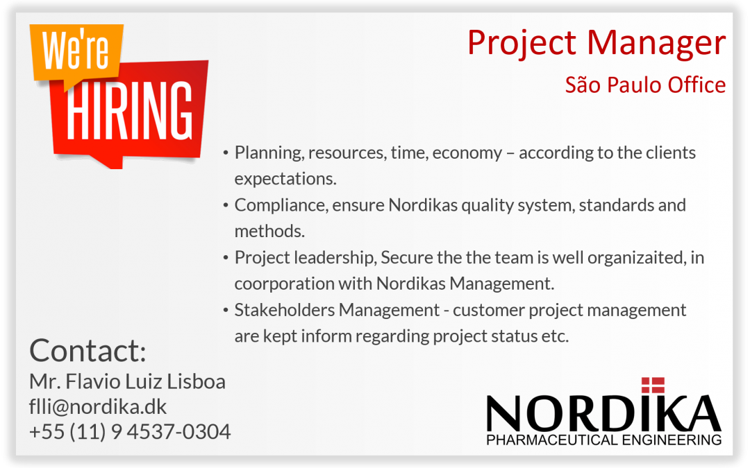 Opportunity Project Manager | Nordika