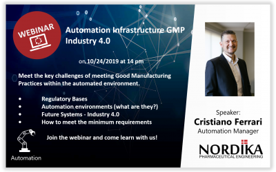 Automation Infrastructure GMP Industry 4.0